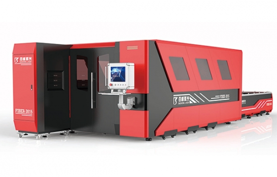 3KW Fiber Laser Cutting Machine With Shuttle Table
