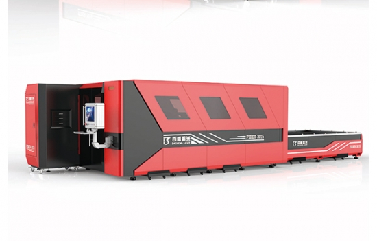 15KW Fiber Laser Cutting Machine With Shuttle Table