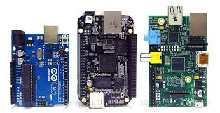 Board & Arduino & Raspberry