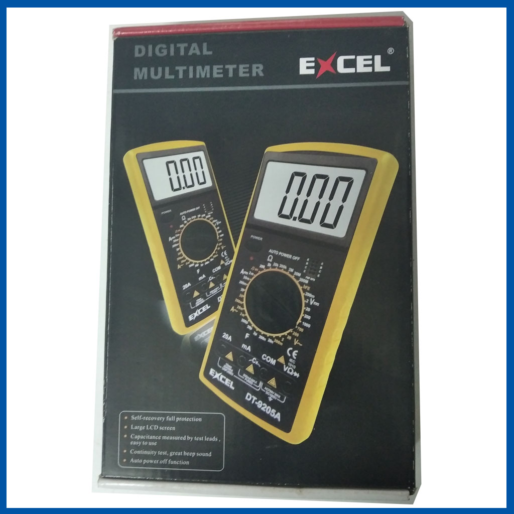 Digital Multimeter DT-9205A