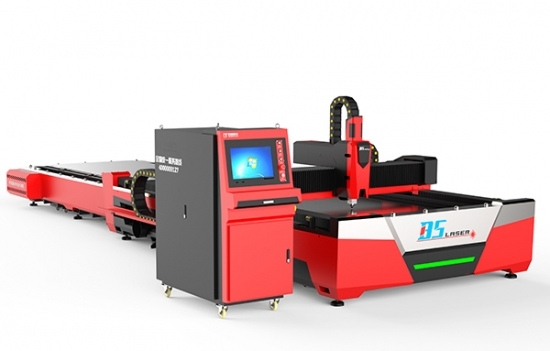 F3015HE-1KW Open Fiber Laser Cutter With Automatic Pallet Changer No Cover