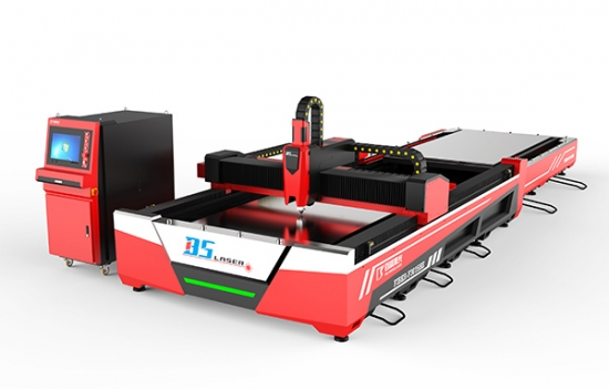 F3015HE-2K Open Fiber Laser Cutter With Automatic Pallet Changer No Cover